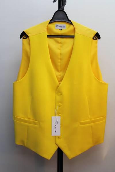 [コレクション  1着限り キングサイズ特集 ステージ・カラーベスト  4Lサイズ  黄色]_画像1