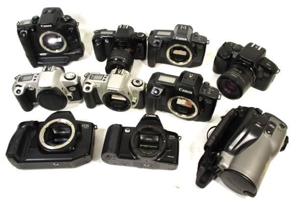 ◆ キヤノンAF/EOS7/630/750/kiss/等【ジャンク品】カメラ 大量10点セット 「5」