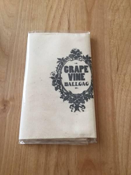 grapevine BALLGAG FC入会特典ブックカバー 未開封