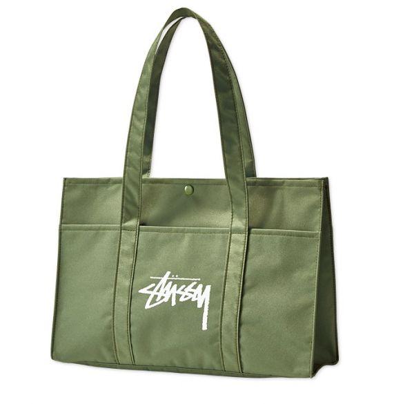 新品■stussy (ステューシー)ミリタリートートバッグ