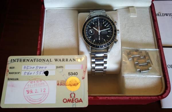OMEGA オメガ スピードマスター マーク40 コスモス 美品 付属品全て揃ってます。