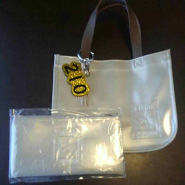 宝塚、望海風斗さん「アルカポネ」限定バッグ&ポーチセット。バッグは1回使用、ポーチ未開封です。チヤーム付き。