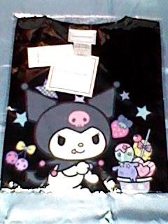 クロミ KUROMI  レディース 半袖 Tシャツ サイズ S 激レア 新品 サンリオ  グッズの画像