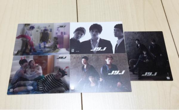 【レアカードのみ】5枚セット JYJ コレクションカード ジェジュン ユチョン ジュンス プラスチックカード 3Dカード