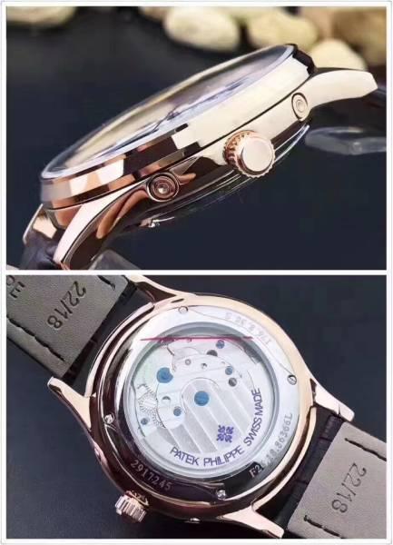 新品 パテックフィリップ Patek Philippe 男性用腕時計 メンズ 自動巻き ステンレス 白文字盤_画像2