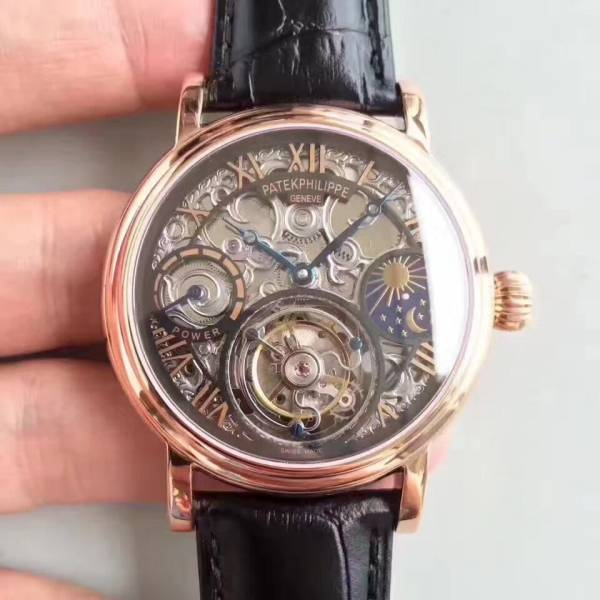 新品 パテックフィリップ Patek Philippe 男性用腕時計 メンズ 自動巻き ステンレス 白文字盤 裏スケ