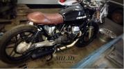 [新品] MILAD customs カフェレーサーカスタム シングルシート ヴィンテージ レトロ Cafe racer YAMAHA SR400/GN CB XS XJ GB BMW R100