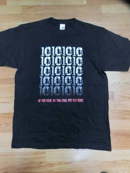 10-FEETテンフィート廃盤Where do we go? What do we do? TOUR 2010限定Tシャツ黒sizeXL超美品pizzaofdeath,京都大作戦of,by,for THE KIDS ライブグッズの画像