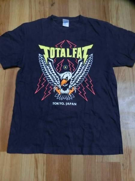 TOTALFATトータルファット×SABBAT13サバトサーティーン限定コラボTシャツ色ネイビーsizeL美品バンT/バンドT/ライブT/フェスT