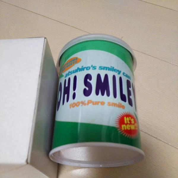 佐藤アツヒロ敦啓 スマイリー缶smiley can