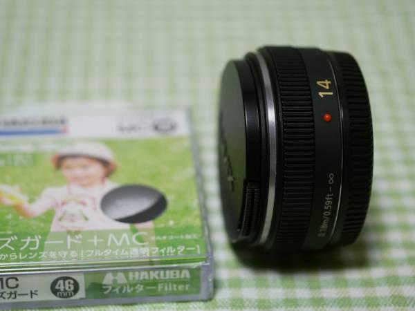 ★パナソニック LUMIX G 14mm F2.5 ASPH H-H014 ブラック 良品★