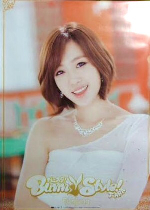 T-ARA ウンジョン バニスタ B2ポスター ライブグッズの画像