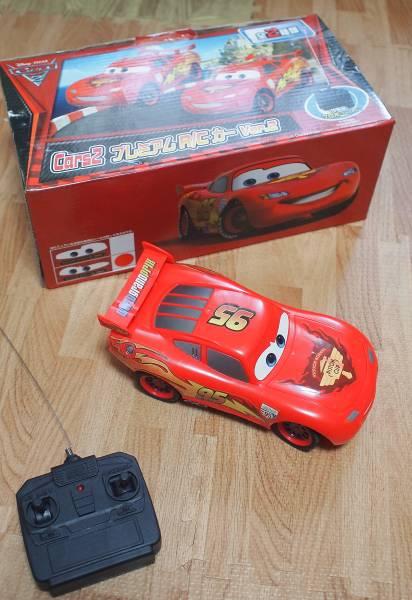 [disney ディズニー]カーズ CARS2 ラジコン マックイーン 良品 ディズニーグッズの画像