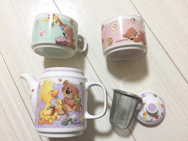 ディズニー スージーズー suzys zoo マグカップ コップ 急須 超貴重品 限定 グッズの画像