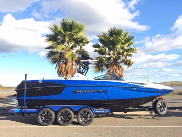 消費税込!!2017年モデル SUPRA SE450ブルーフレーク新艇 展示艇(USA)横浜港渡し_画像1