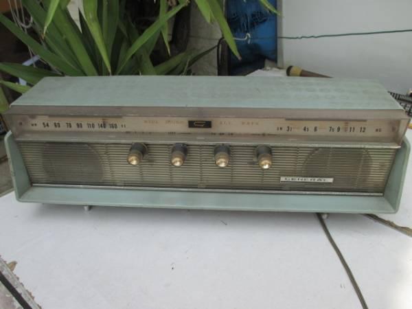GENERAL 八欧電気 真空管ラジオ 5MA707★ジャンク★