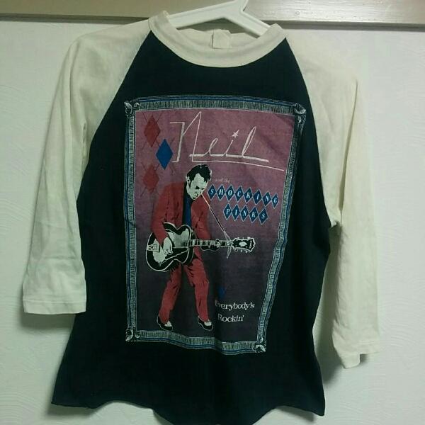 80sニールヤング・オリジナル・ビンテージツアーシャツベース