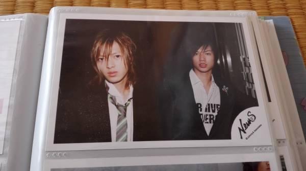 4■NEWS 加藤シゲアキ 山下智久 公認写真 2005年■