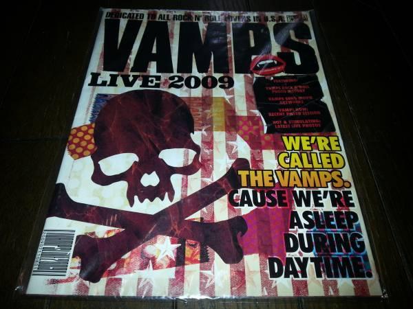 VAMPS LIVE 2009 U.S.A パンフレット/新品
