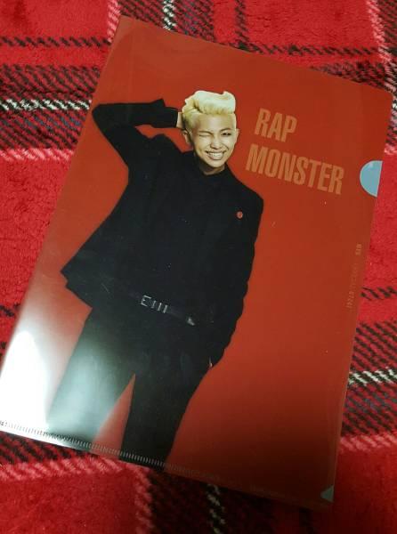 公式☆防弾少年団BTS/ナムジュンRAP MONSTER「2014THE RED BULLET」クリアファイル