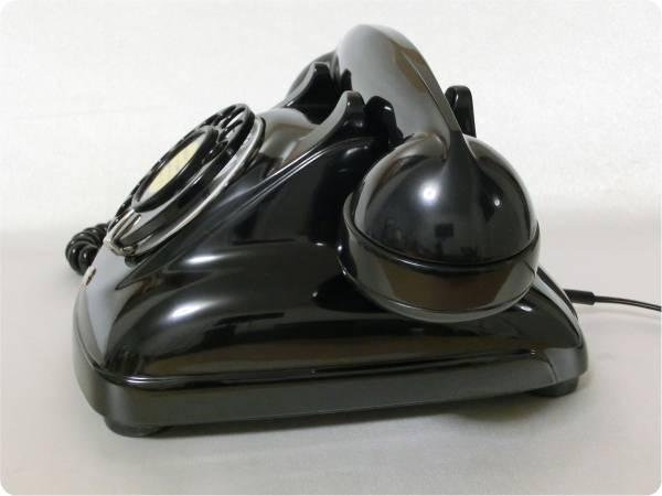 &#9742 昭和の電話機 4号 黒電話 昭和レトロ 実動! &#9742_画像3