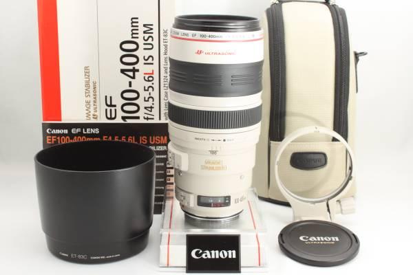 ★新品級★CANON キヤノン EF 100-400mm F4.5-5.6 L IS USM 元箱 付属品完備