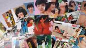 当時物 松田聖子 雑誌 切り抜き 大量まとめて 水着など 希少 マニア放出品
