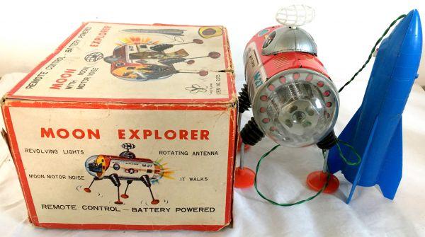 元箱付 完動 美品 60年代 ヨネザワ NASA ムーンエクスプローラー