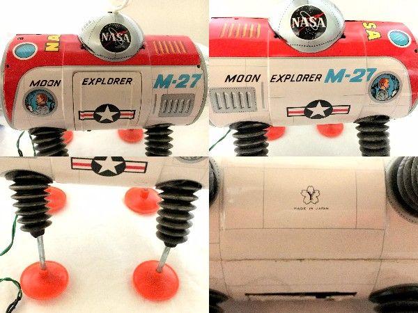 元箱付 完動 美品 60年代 ヨネザワ NASA ムーンエクスプローラー_画像3