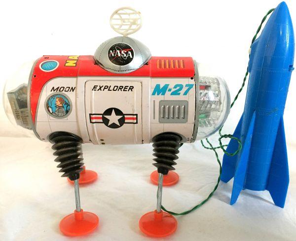 元箱付 完動 美品 60年代 ヨネザワ NASA ムーンエクスプローラー_画像2
