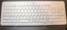 ★【通電確認済】富士通ワイヤレスキーボード SK-9063 白★