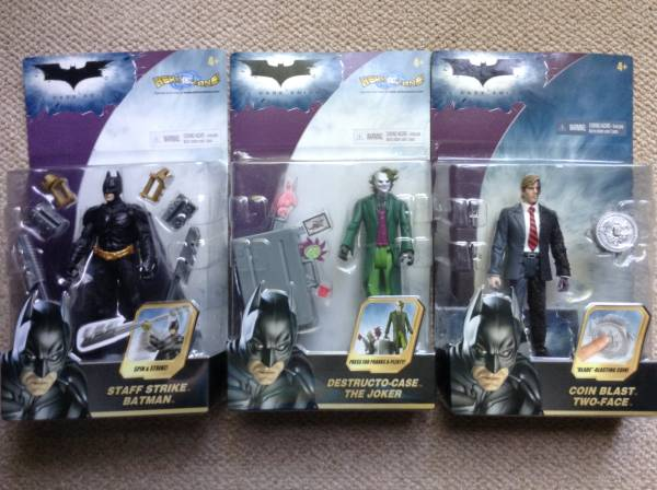 バットマン ダークナイト フィギュア3種セット グッズの画像