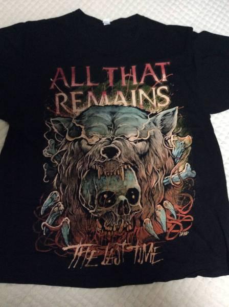 ★ALL THAT REMAINS/オールザットリメインズ★2011年ツアー Tシャツ★XLサイズ★バックプリント有