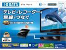 未使用品! IODATA 無線LANアダプター WN-AG300EA 11n/a対応ハイパワー テレビが簡単にネットにつながる! LANポートを2ポート搭載