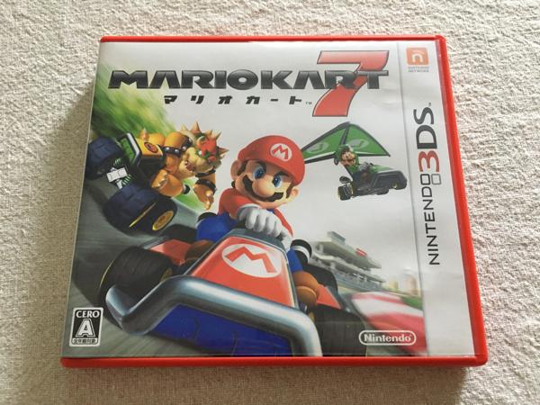 ニンテンドー3DSソフト 「マリオカート7」used_画像1