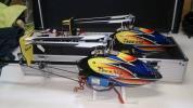 t-rex250 2機出品