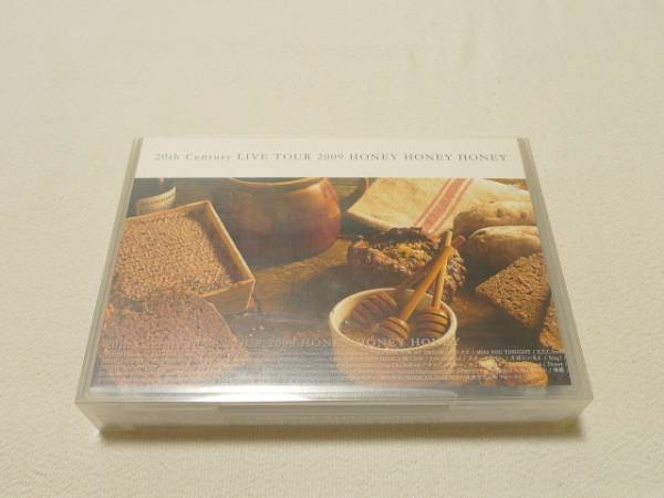 初回限定盤DVD★ V6 20th Century HONEY HONEY We are Coming Century 2009 ★ コンサートグッズの画像