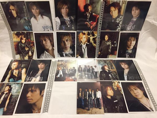 Janne Da Arc LIVE 「ARCADIA」「DEAD or ALIVE」 ポストカードセット シールセット ジャンヌダルク グッズ yasu