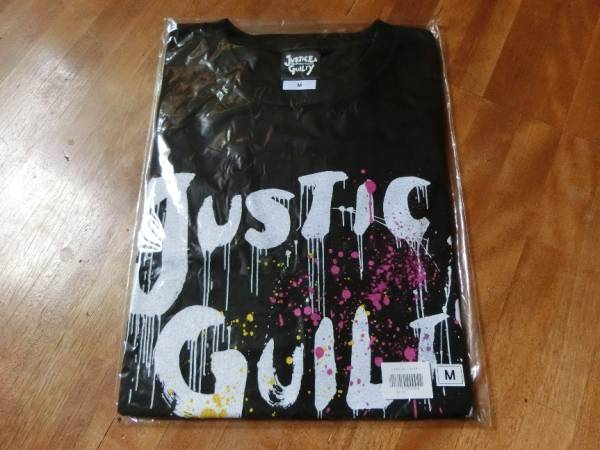GLAY ☆JUSTICE & GUILTY☆ Tシャツ M 黒