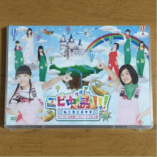 私立恵比寿中学 エビ中島!!!~モラトリアムは永遠に…ディレクターズカット版Vol.3 DVD ライブグッズの画像