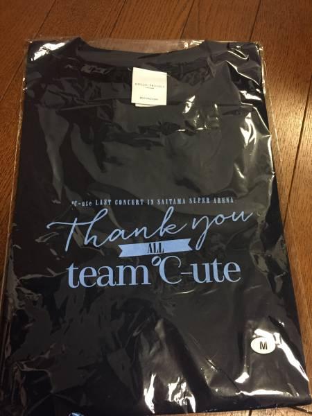 【貴重】℃-ute メモリアルTシャツ M 6/12 ファイナル thank you team ℃-ute さいたまスーパーアリーナ SSA ライブグッズの画像