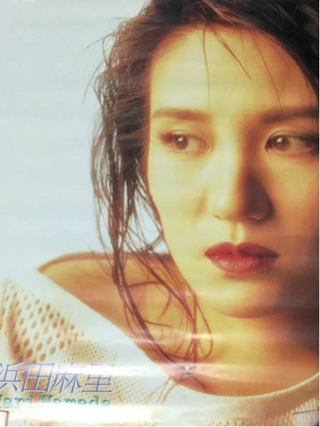 当時物 浜田麻里 非売品プロモーションポスター 未使用品 ライブグッズの画像