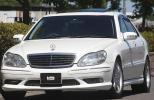 【AMG S55 Ver 後期モデル仕様 HDDナビ&地デジ】 2000y/M-ベンツS430/車検30年8月/機関良好/美車