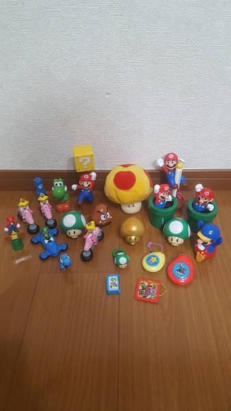 スーパーマリオおもちゃ大量セット グッズの画像