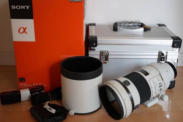 ソニー SONY 300mm F2.8 G SAL300F28G中古品 凹みあります。