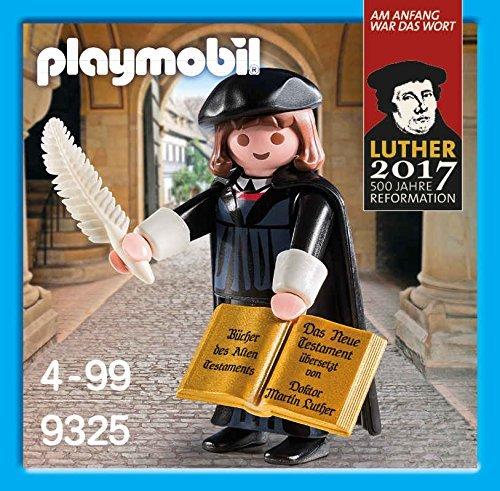 プレイモービル 限定版 9325 マルティン・ルター  キリスト教  宗教改革 プロテスタント 新品 (検索用:旧版 6099) playmobil