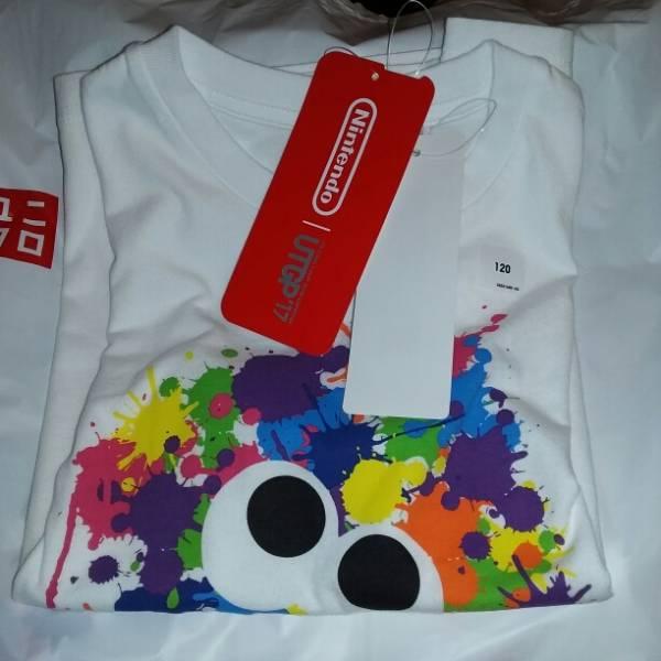 [ヤマト送無料]希少 スプラトゥーン Tシャツ ニンテンドー 120サイズ グッズの画像