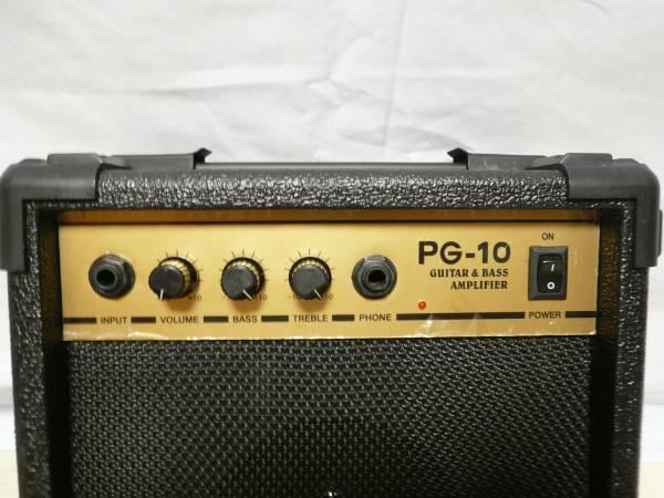 動作確認 ● Photogenic 密閉型 小型 ギター/ベースアンプ PG-10 美品 ●
