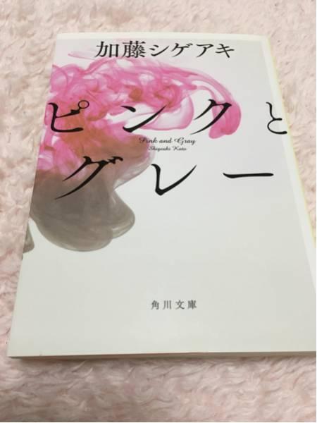 小説 ピンクとグレー 加藤シゲアキ
