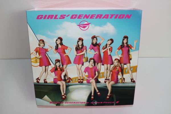 【美品・即決有】少女時代 CD Girls'Generation Ⅱ Girls&peace 豪華初回限定盤 75105008
